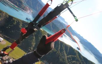 take control yourself paragliding Picton